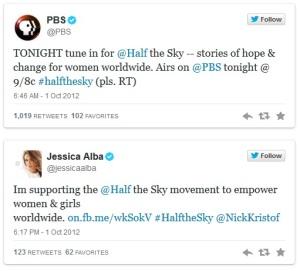 PBS Tweets